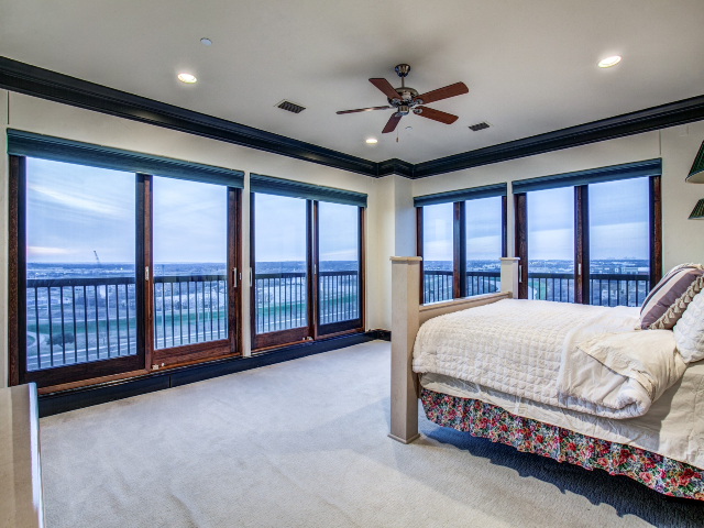 Views from master suite