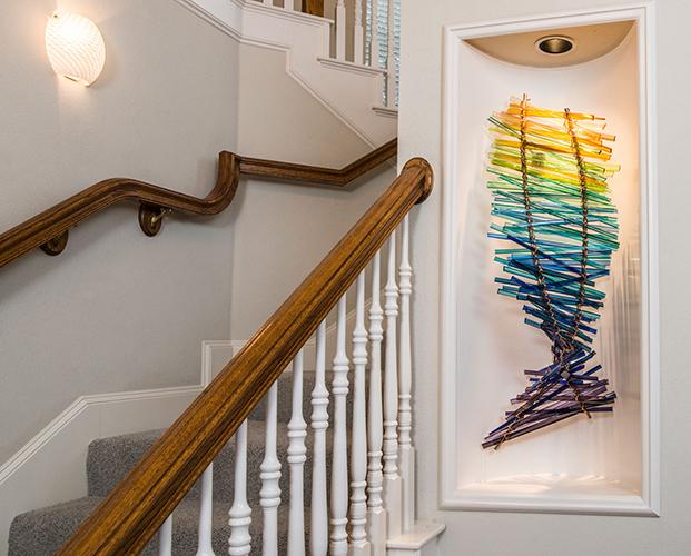 Carlyn Ray's glass art