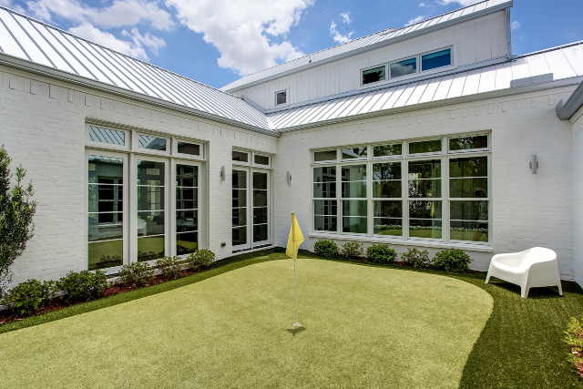 2020 Quarantine Dream Home putting green