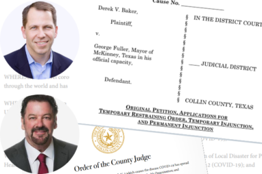 McKinney Real Estate Agent Sues Mayor for Shelter-in-Place Order
