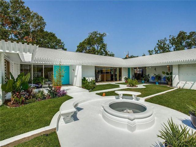 Palm Springs midcentury modern
