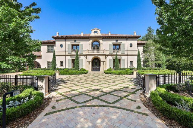 Italianate Renaissance villa