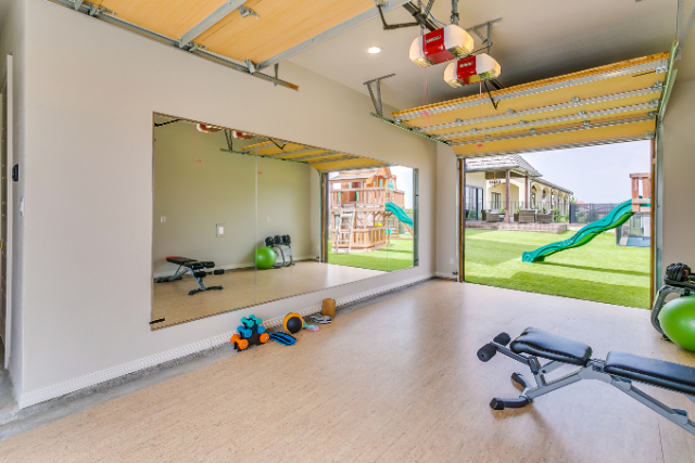 Is a private workout room on your checklist?  What about a sauna?