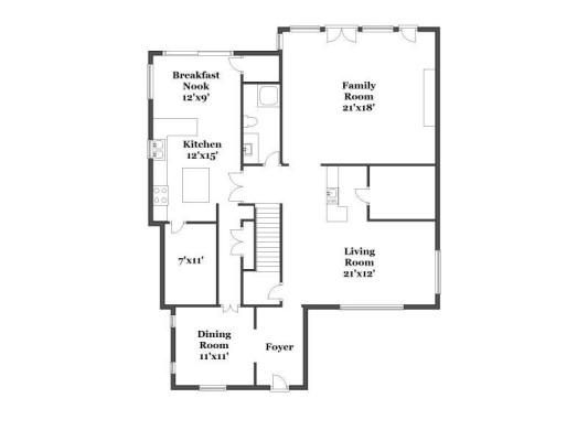 3203 Princeton floorplan
