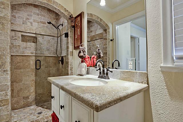 Tuesday two hundred all this fully remodeled home near for Small bathroom designs without bathtub