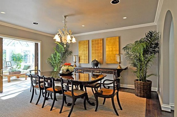 3808 Turtle Creek formal dining