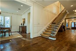 3824 Shenandoah stairwell