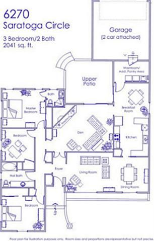 6270 Saratoga floorplan