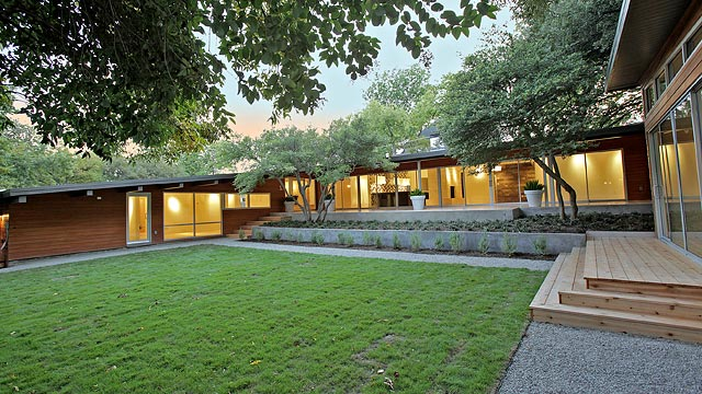 This Mid Century Modern North Dallas Ranch Really Puts The M Back In Mastersuite on Bath Mastersuite Floor Plans