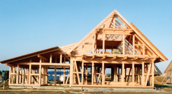 Bernadette Timber Frame Framing