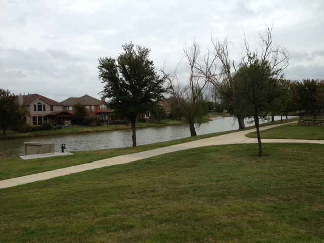 Blue Grass Lake and Greenbelt