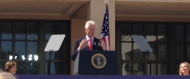 Bush Center Clinton