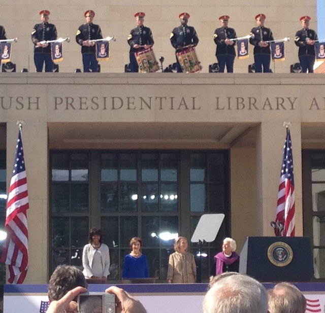 Bush Center First Ladies
