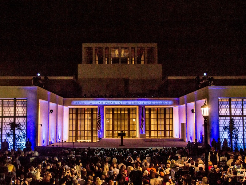 Bush-Presidential-Center-freedom-lighting-crowd_142357