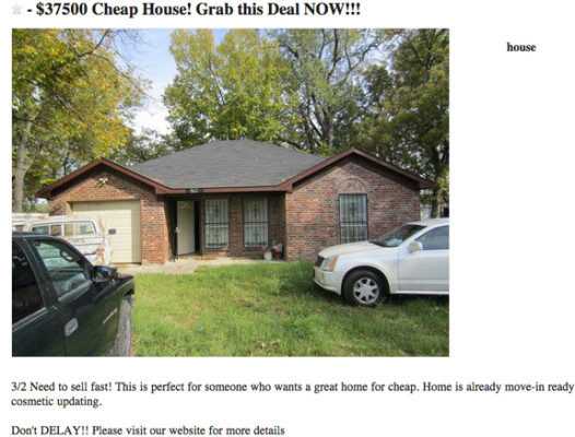 CHEAP HOUSE
