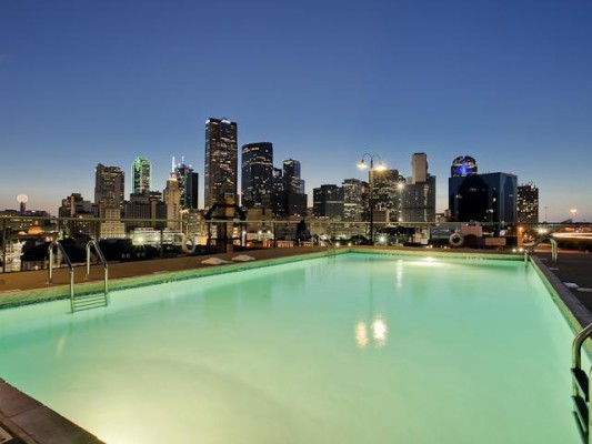 Canton Roof Pool