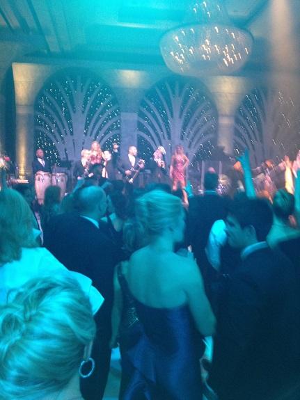 Crystal Charity Ball dancing