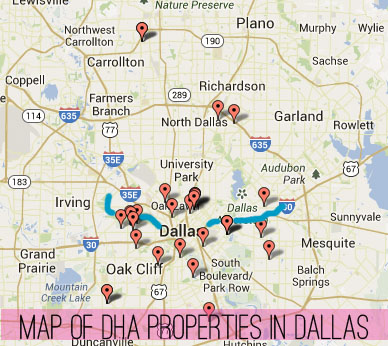 DHA Property Map
