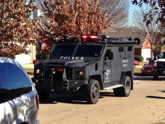 FWPD SWAT Vehicle