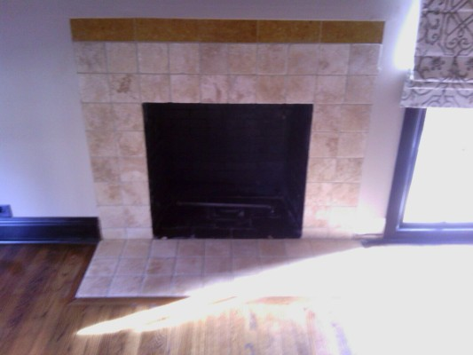 Fireplace Tile Grout