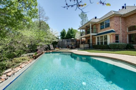 Foxborough Pool and Backyard