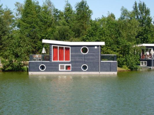 Gray Houseboat