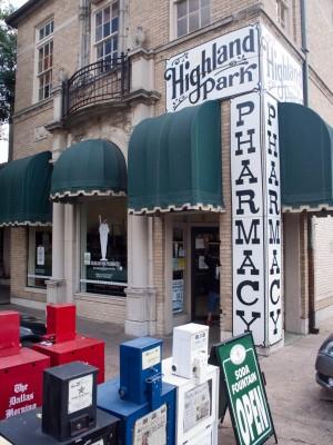 Highland Park Soda Fountain (or Highland Park Pharmacy, if You're a