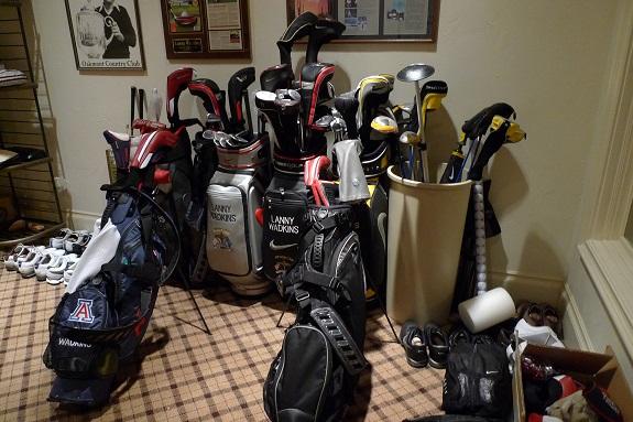 Lanny Wadkins golf room 1