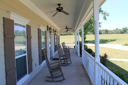 Liberty Pines Porch