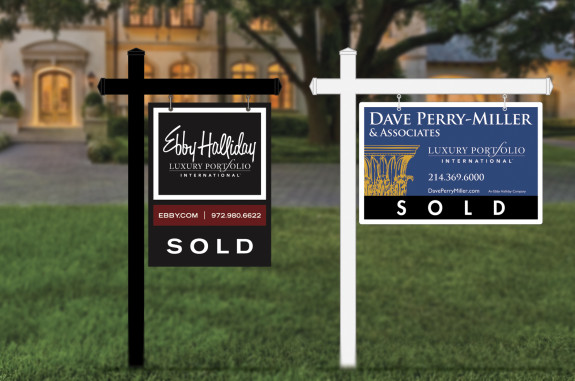 Luxury Yard Signs