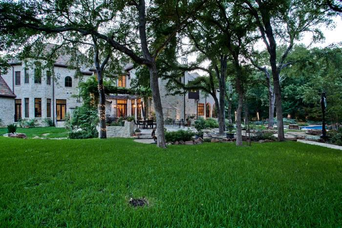 M Mansion exterior grass