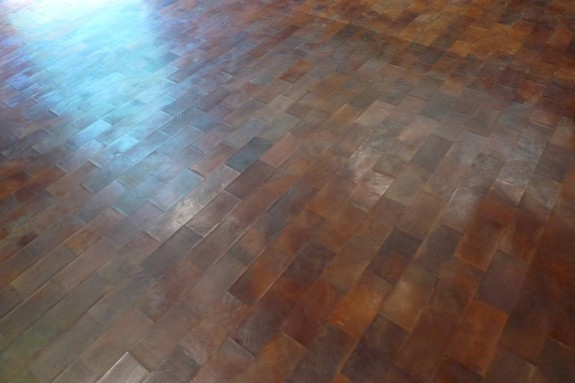 Marcus house leather floor
