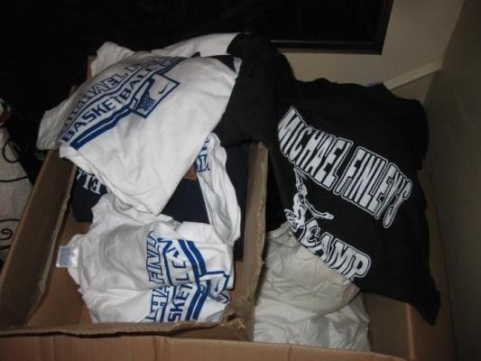Michael Finley tee shirts