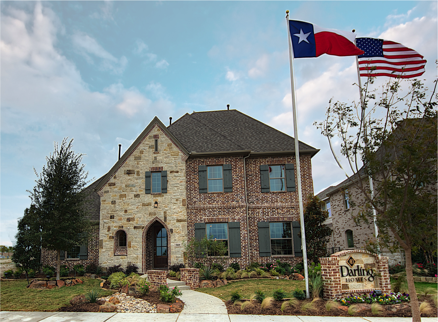 A darling deal for darling homes and further proof the for Modern homes in texas