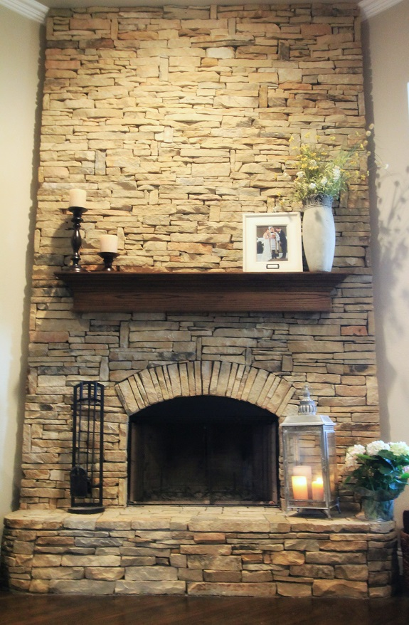 Building a home get yourself a home building concierge for Diy rock wall fireplace