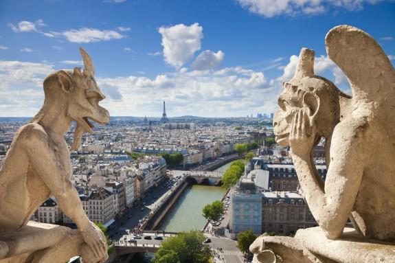 Paris Gargoyles
