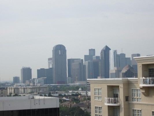 Penthouse Skyline view