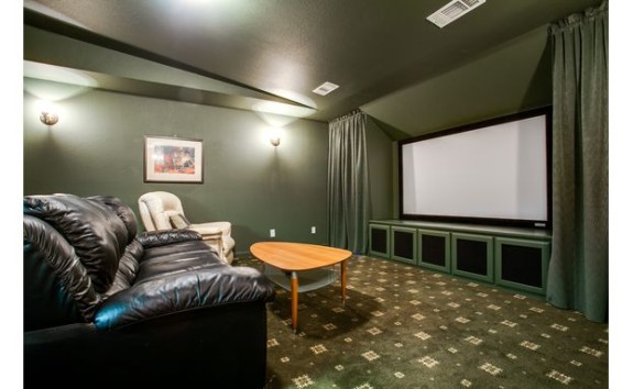 S. Hill Drive Home Theater