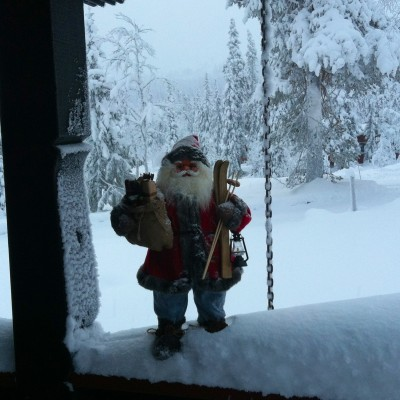 Snowy Santa Oslo