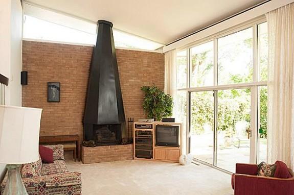 Walling Living Fireplace