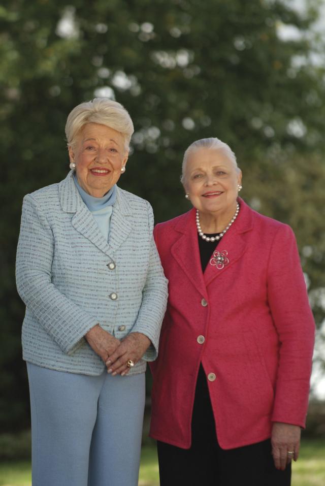 Mary Frances & Ebby - March 2007
